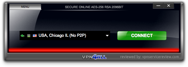 VPN4ALL-main-interface
